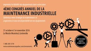 October 31st- 4th Annual Congress of Industrial Maintenance