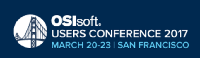 March 20-23, 2017: OSIsoft Users Conference – San Francisco